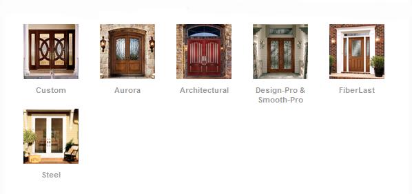 Linea de producto de puertas de exterior
