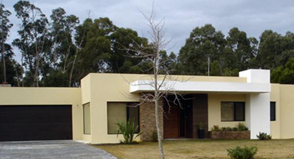 Casa minimalista en cumbres de carrasco master homes - Casas steel framing ...