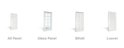 Tipos de puertas de interiores