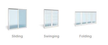 Tipos de puertas de patios