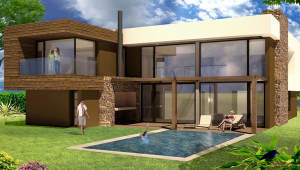 Casa en construcción Barrio Olivos