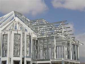 Estructura de una casa Steel Framing