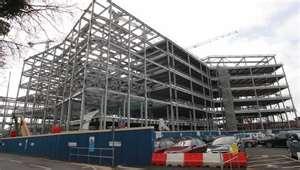 Estructura de un edificio en Steel Framing