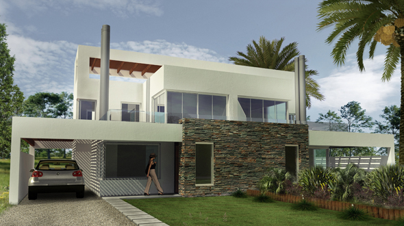 casa en punta pinares master homes steel framing uruguay