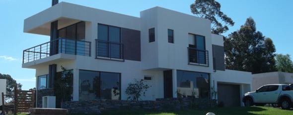 Altos de la Tahona, casa construida con sistema mixto